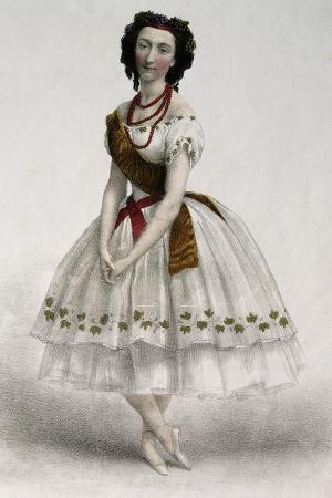 The Dancer Emma Livry