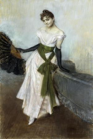 Portrait of Signorina Concha De Ossa, 1888