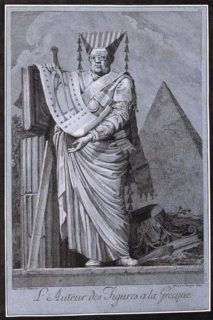The Architect in a Greek Style, 1771