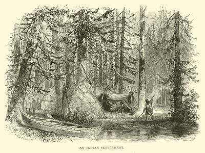 An Indian Settlement