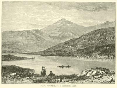Snowdon, from Llanberis Lake