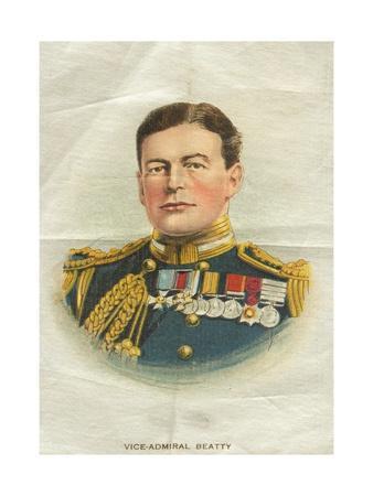 Vice-Admiral Beatty, Cigarette Flag