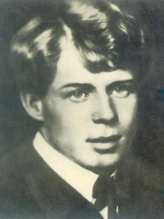 Portrait of the Poet Sergei Yesenin