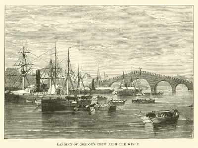 Landing of Gordon's Crew from the Hyson