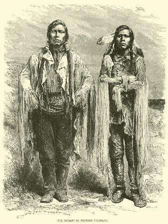 Ute Indians of Western Colorado