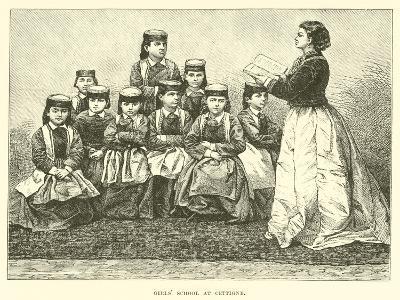Girls' School at Cettigne