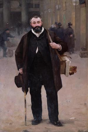 Portrait of Pierre-Emmanuel Damoye