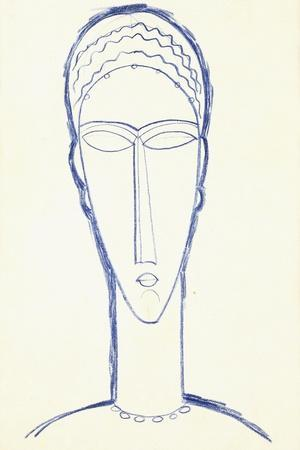 Study for a Head for a Sculpture, C.1911