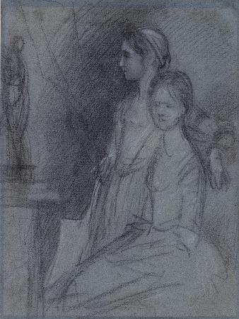 Study of the Artist's Daughters, C.1763