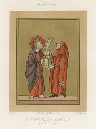 Saint Paul Receiving His Mission