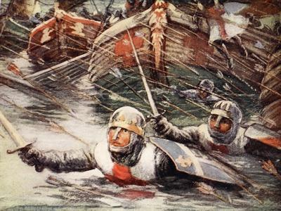 Louis Throws Himself Overboard