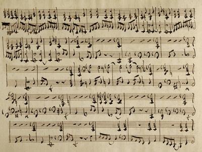 Sheet Music of Il Conte Di Essex