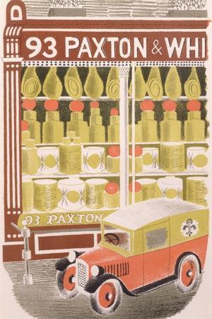 Paxton and Whitfield Cheesemongers, 1938