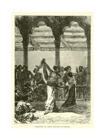 Cathacks or Male Dancers of Bhopal