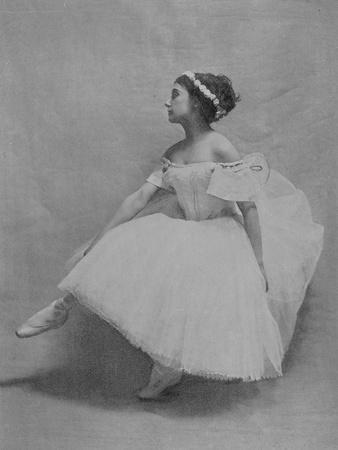 Tamara Karsavina in the Role of Giselle, C.1908