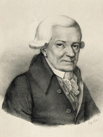 Portrait of Michael Haydn
