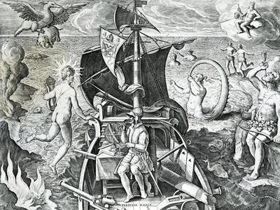 Allegory on the Travels of Ferdinand Magellan
