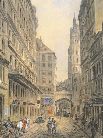 The Tiefengraben Street