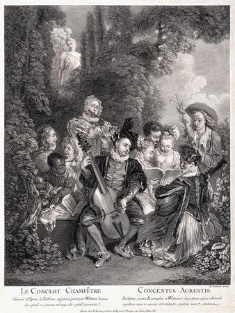 Le Concert Champetre, 1735