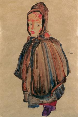 Girl with Hood, 1910