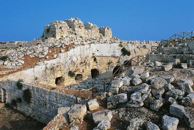 Third Moat, Euryalus Castle, Syracuse