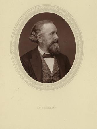 Portrait of Sir Edward Frankland