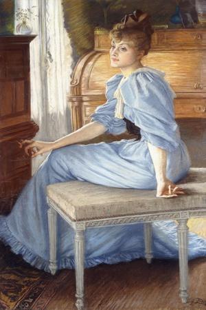 Portrait of Madame Henriette De Bonnieres, 1880S