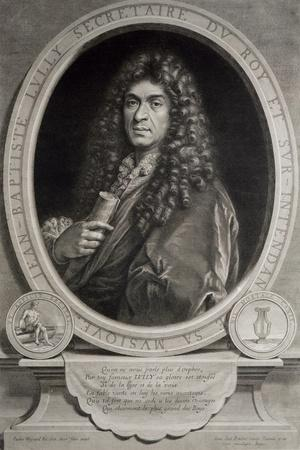 Portrait of Jean-Baptiste Lully