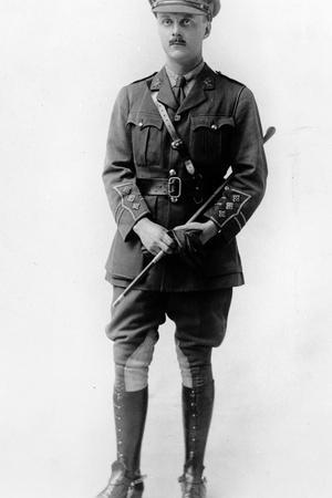 English Cavalry Officer, C.1930