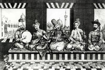 A Group of Oriental Musicians