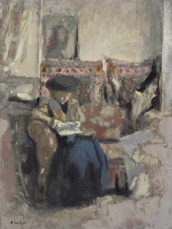 La Liseuse Au Coussin, C.1905