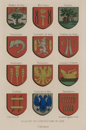 Coats of Arms of the Corporations of Ghent
