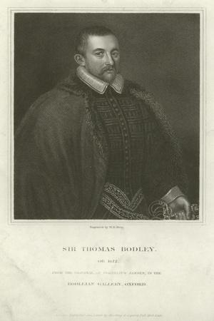 Sir Thomas Bodley, English Diplomat and Scholar