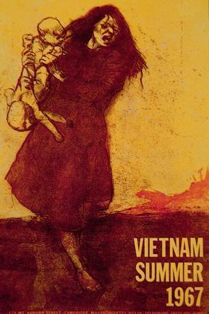 Vietnam, Summer 1967, Anti-Vietnam War Poster
