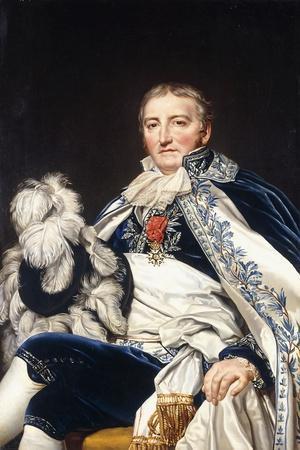 Portrait of Count Francais De Nantes