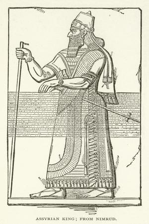 Assyrian King; from Nimrud