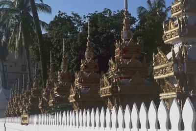 The Buddhist Wat Chan Temple, Vientiane