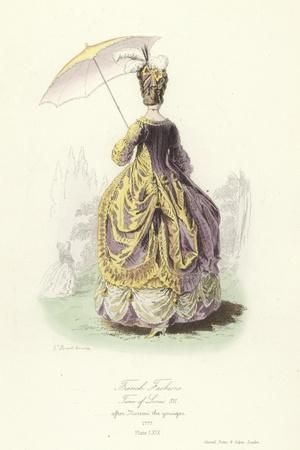 French Fashions, Time of Louis XVI