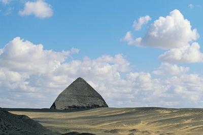 Pyramid of Sneferu, known as Bent Pyramid
