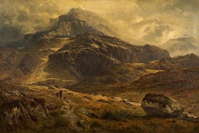 Glyder Fawr, Snowdon Range, Wales, 1881