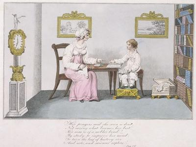 Her Prayers, 1817