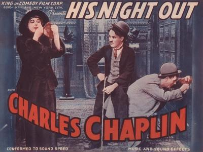 Lobby Card for 'His Night Out'