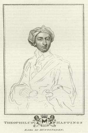 Theophilus Hastings, Earl of Huntingdon