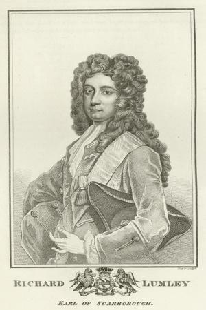Richard Lumley, Earl of Scarborough