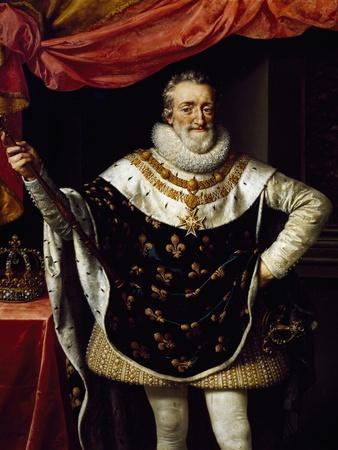 Portrait of Henry IV of France