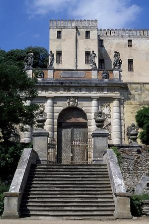 Entrance Gate of Catajo Castle