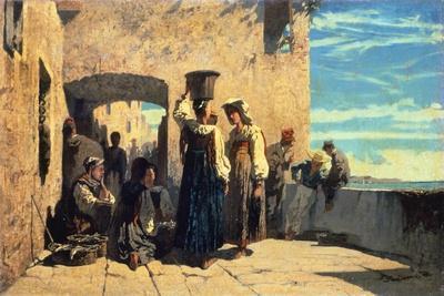 Fishwives in Lerici, 1860