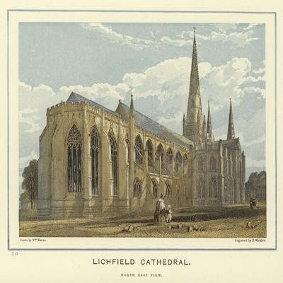 Lichfield Cathedral, North East View
