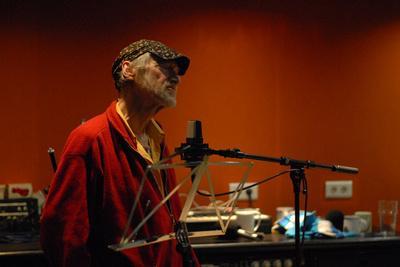 Michael Horovitz, Damon Albarn Studio, 2013
