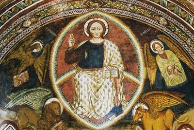 Christ Blessing, Fresco, Church of St Vigilius